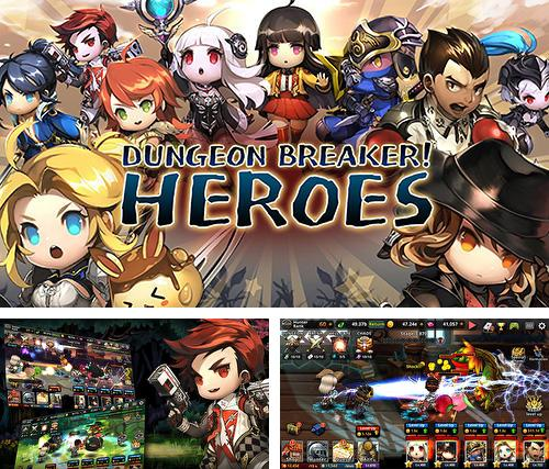 In addition to the game War of dragon ring for Android phones and tablets, you can also download Dungeon breaker! Heroes for free.