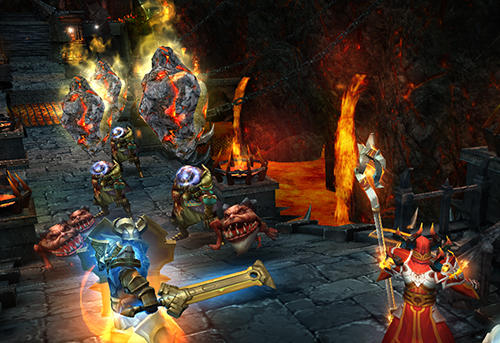 Screenshots von Dungeon champions für Android-Tablet, Smartphone.