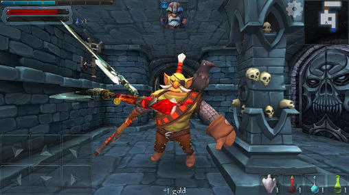 Screenshots von Dungeon hero RPG für Android-Tablet, Smartphone.