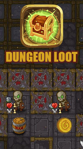 Dungeon loot poster