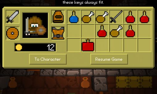 Screenshots von Dungeon madness für Android-Tablet, Smartphone.