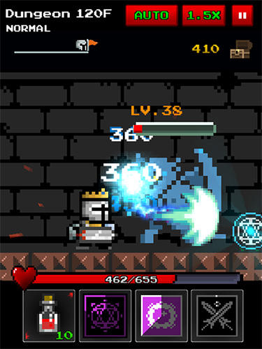 Dungeon n pixel hero: Retro RPG скриншот 2