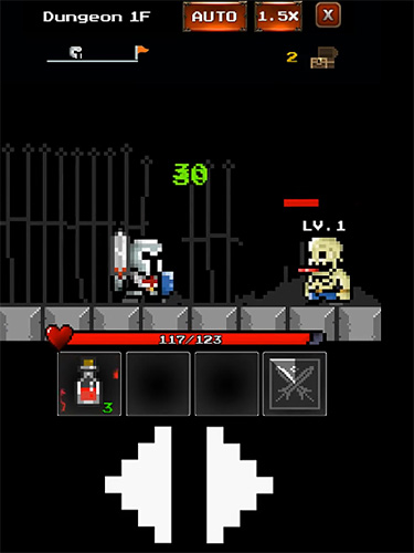 Dungeon n pixel hero: Retro RPG картинка из игры 3