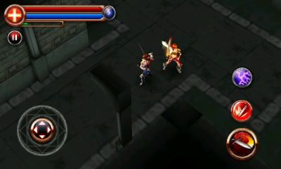 Screenshots von Dungeon Hunter für Android-Tablet, Smartphone.