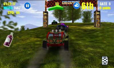Screenshots do Dust Offroad Racing - Perigoso para tablet e celular Android.