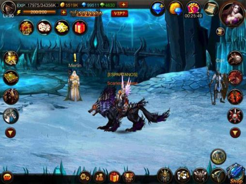 Kostenloses Android-Game Pflicht der Helden: Expedition. Vollversion der Android-apk-App Hirschjäger: Die Duty of heroes: Expedition für Tablets und Telefone.