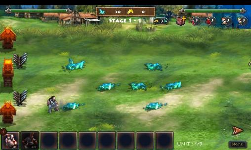 Screenshots von Dwarfs vs orcs: Begins für Android-Tablet, Smartphone.