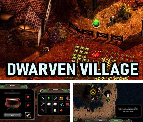 Dwarven village: Dwarf fortress RPG