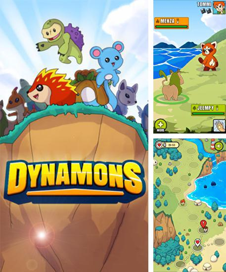 In addition to the game Terapets: The Crazy Scientist for Android phones and tablets, you can also download Dynamons for free.