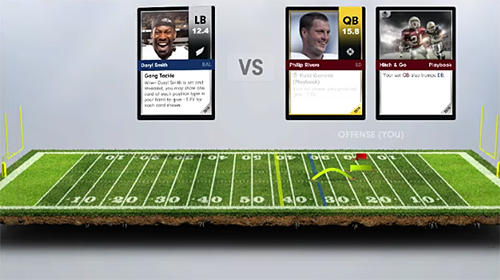Screenshots von Dynasty: A football card game für Android-Tablet, Smartphone.