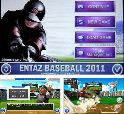 In addition to the game Homerun Battle 3d for Android phones and tablets, you can also download E-Baseball 2011 for free.