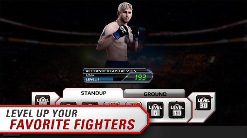 Screenshots von EA sports: UFC für Android-Tablet, Smartphone.