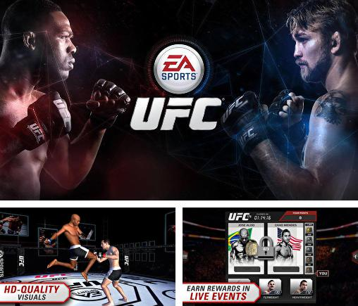 In addition to the game Real Boxing for Android phones and tablets, you can also download EA sports: UFC for free.