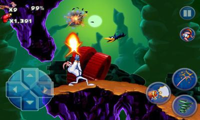 Screenshots do Earthworm Jim 2 - Perigoso para tablet e celular Android.