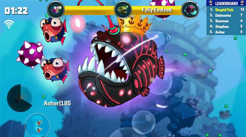 Eatme.io: Hungry fish fun game скриншот 2