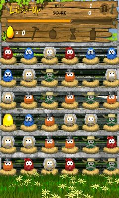Screenshots of the Egg Farm for Android tablet, phone.