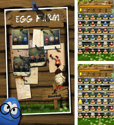 In addition to the game KonradGP for Android phones and tablets, you can also download Egg Farm for free.