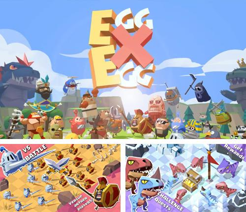 In addition to the game Lineage red knights for Android phones and tablets, you can also download Egg x egg for free.