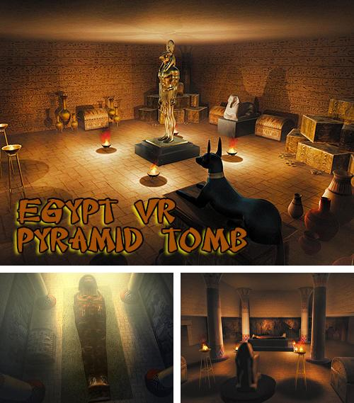 In addition to the game Justice league VR: Join the league for Android phones and tablets, you can also download Egypt VR: Pyramid tomb adventure game for free.
