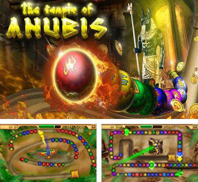 In addition to the game Zuma Factory for Android phones and tablets, you can also download Egypt Zuma – Temple of Anubis for free.