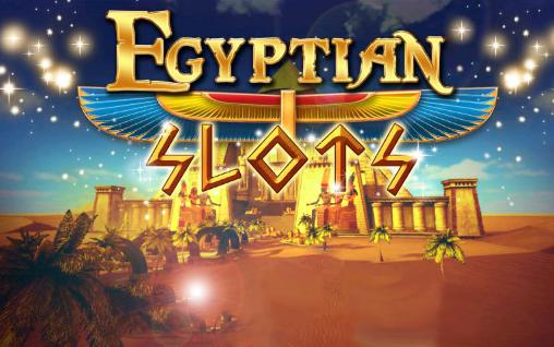 Egyptian slots poster