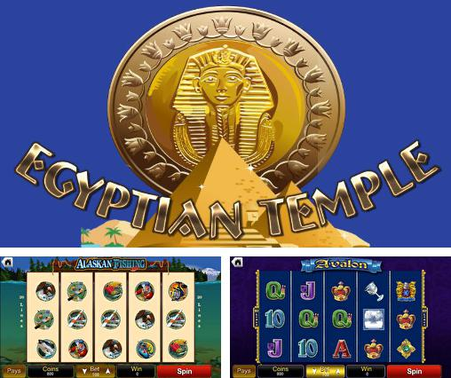 Egyptian temple casino