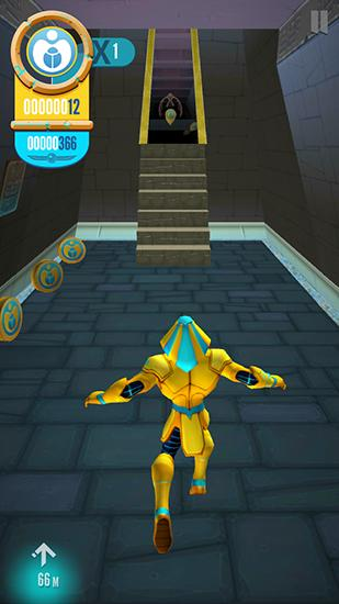 Screenshots von Egyxos: Labyrinth run für Android-Tablet, Smartphone.