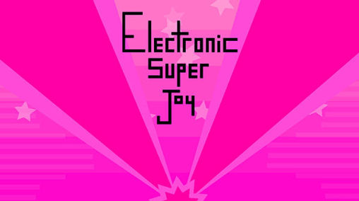 Electronic super Joy poster