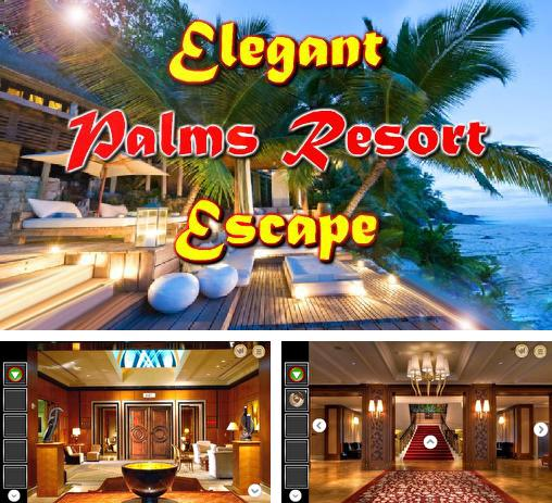Elegant palms resort escape