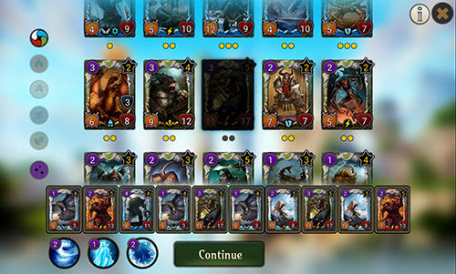 Elemancer: Collectible card game скриншот 2