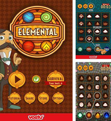 In addition to the game The Untold Legend for Android phones and tablets, you can also download Elemental for free.