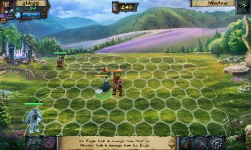 Screenshots von Elemental heroes für Android-Tablet, Smartphone.