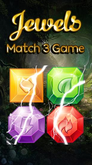 Elemental jewels: Match 3 game