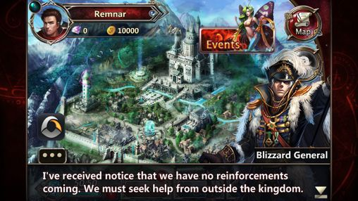 Screenshots von Elemental kingdoms. Legends of four empires für Android-Tablet, Smartphone.