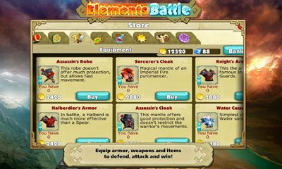安卓平板、手机Elements Battle截图。