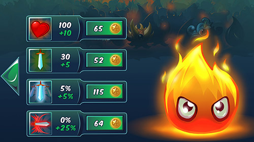Download Elements vs. monsters Android free game.