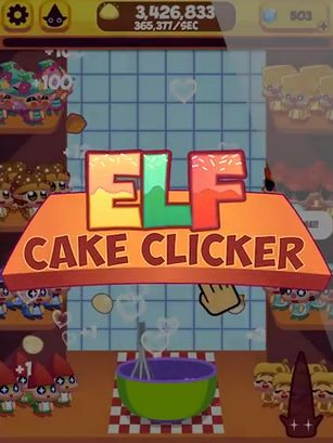 Elf cake clicker: Sugar rush. Elf on the shelf