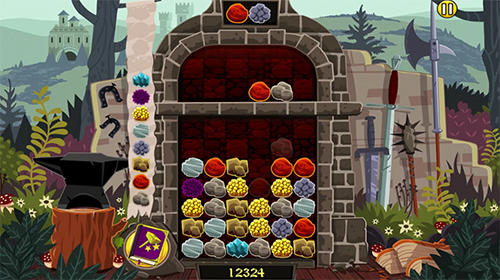 Elfcraft: Match and crush 3 stones скриншот 2