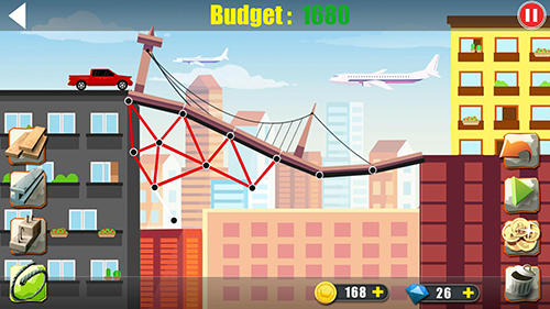 Elite bridge builder: Mobile fun construction game скриншот 2