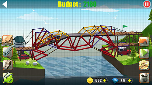 Elite bridge builder: Mobile fun construction game картинка из игры 3