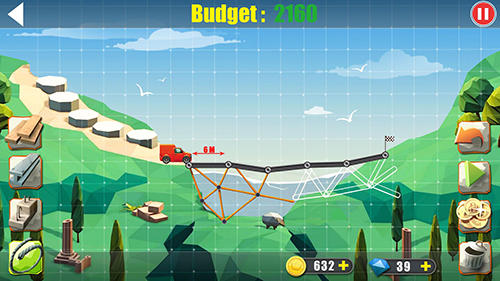 Elite bridge builder: Mobile fun construction game скриншот 5