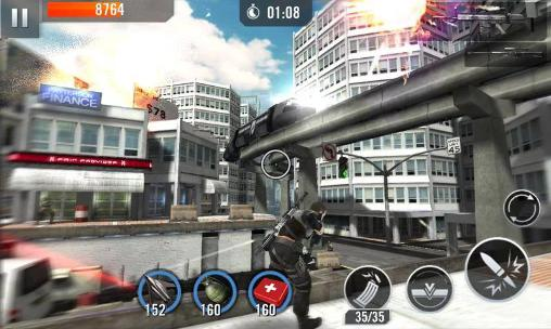 Kostenloses Android-Game Elite Killer: SWAT. Vollversion der Android-apk-App Hirschjäger: Die Elite killer: SWAT für Tablets und Telefone.
