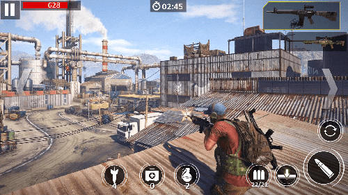 Screenshots von Elite shooter: Sniper killer für Android-Tablet, Smartphone.
