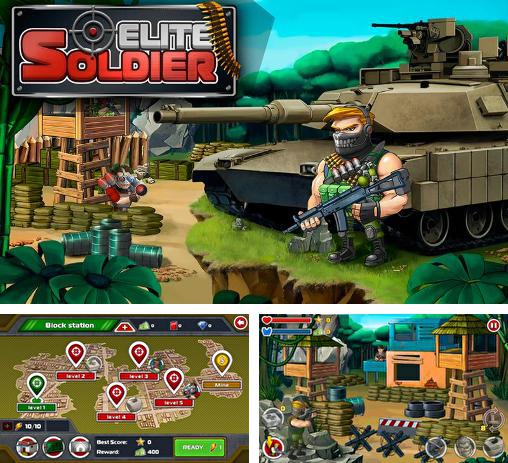 In addition to the game Gun Strike for Android phones and tablets, you can also download Elite soldier for free.
