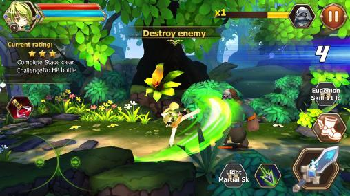 Screenshots von Elsword: Evolution für Android-Tablet, Smartphone.