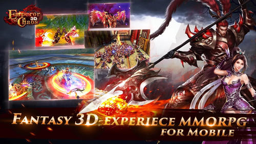 Screenshots von Emperor of chaos 3D für Android-Tablet, Smartphone.