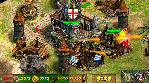 Juega a Empire at war 2: Conquest of the lost kingdoms para Android. Descarga gratuita del juego Imperio en la guerra 2: Conquista de los reinos perdidos.