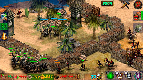 Screenshots do Empire at war 2: Conquest of the lost kingdoms - Perigoso para tablet e celular Android.