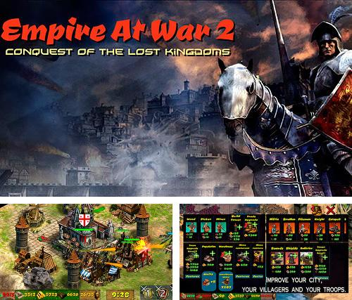 En plus du jeu Chevalier métallique  pour téléphones et tablettes Android, vous pouvez aussi télécharger gratuitement Empire en guerre 2: Conquête de royaumes perdus , Empire at war 2: Conquest of the lost kingdoms.