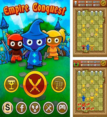 In addition to the game Gravity for Android phones and tablets, you can also download Empire Conquest for free.